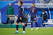 Kylian Mbappe (FRA), Antoine Griezmann (FRA) during the UEFA Nations League football match between France and Sweden on November 17, 2020 at Stade de France in Saint-Denis, France - Photo Stephane Allaman / ProSportsImages / DPPI