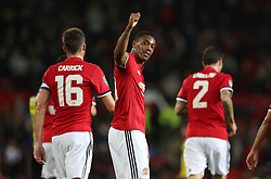 during the Carabao Cup, Third Round match at Old Trafford, Manchester.