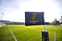 A general view of the Recreation Ground pitch prior to the match - Mandatory byline: Patrick Khachfe/JMP - 07966 386802 - 21/11/2015 - RUGBY UNION - The Recreation Ground - Bath, England - Bath Rugby v Leinster Rugby - European Rugby Champions Cup.