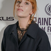 London, England, UK. 25th September 2017. Actress Lolita Chammah is a French actress of Barrage attend Raindance Film Festival Screening at Vue Leicester Square, London, UK