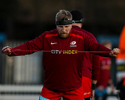 Jackson Wray of Saracens  - Mandatory by-line: Nick Browning/JMP - 26/02/2021 - RUGBY - Butts Park Arena - Coventry, England - Coventry Rugby v Saracens - Friendly