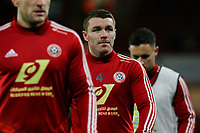 Sheffield United's John Fleck during the pre-match warm-up <br /> <br /> Photographer Rich Linley/CameraSport<br /> <br /> The Premier League - Sheffield United v West Ham United - Friday 10th January 2020 - Bramall Lane - Sheffield <br /> <br /> World Copyright © 2020 CameraSport. All rights reserved. 43 Linden Ave. Countesthorpe. Leicester. England. LE8 5PG - Tel: +44 (0) 116 277 4147 - admin@camerasport.com - www.camerasport.com