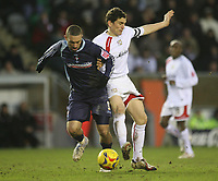 Photo: Marc Atkins.<br /> Milton Keynes v Swindon Town. Coca Cola League 2. 01/01/2007.