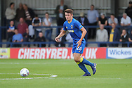 AFC Wimbledon Anthony Hartigan (26) clearing the ball during the Pre-Season Friendly match between AFC Wimbledon and Burton Albion at the Cherry Red Records Stadium, Kingston, England on 21 July 2017. Photo by Matthew Redman.