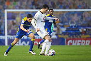 AFC Wimbledon midfielder George Dobson (24) chasing down ball during the EFL Sky Bet League 1 match between AFC Wimbledon and Milton Keynes Dons at Plough Lane, London, United Kingdom on 30 January 2021.