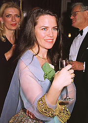 MISS KOO STARK former close friend of the Duke of York, at a party in London on 22nd April 1998.MGY 22