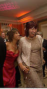 Tracey Emin and Janet Street-Porter, Bright Young Things Royal European charity premiere in Leicester Sq. and party afterwards at  Claridges, 28 September 2003. © Copyright Photograph by Dafydd Jones 66 Stockwell Park Rd. London SW9 0DA Tel 020 7733 0108 www.dafjones.com