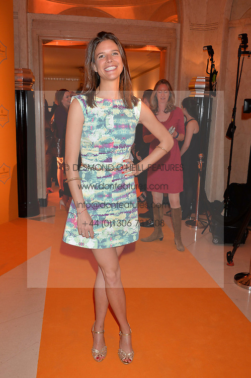 EMILY BROOKE winner of the Veuve Clicquot New Generation Award at the Veuve Clicquot Business Woman Awards held at Claridge's, Brook Street, London on 11th May 2015.