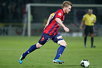 FOOTBALL - FRENCH CHAMPIONSHIP 2011/2012 - CLERMONT FA v STADE DE REIMS - 28/11/2011 - PHOTO EDDY LEMAISTRE / DPPI - JACQUES SALZE (CLE)