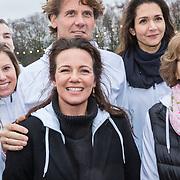 NLD/Amsterdam/20190208- Launch De Hollandse 100 2019, Anettte Sekevre en partner Bernhard Jr. en Margriet