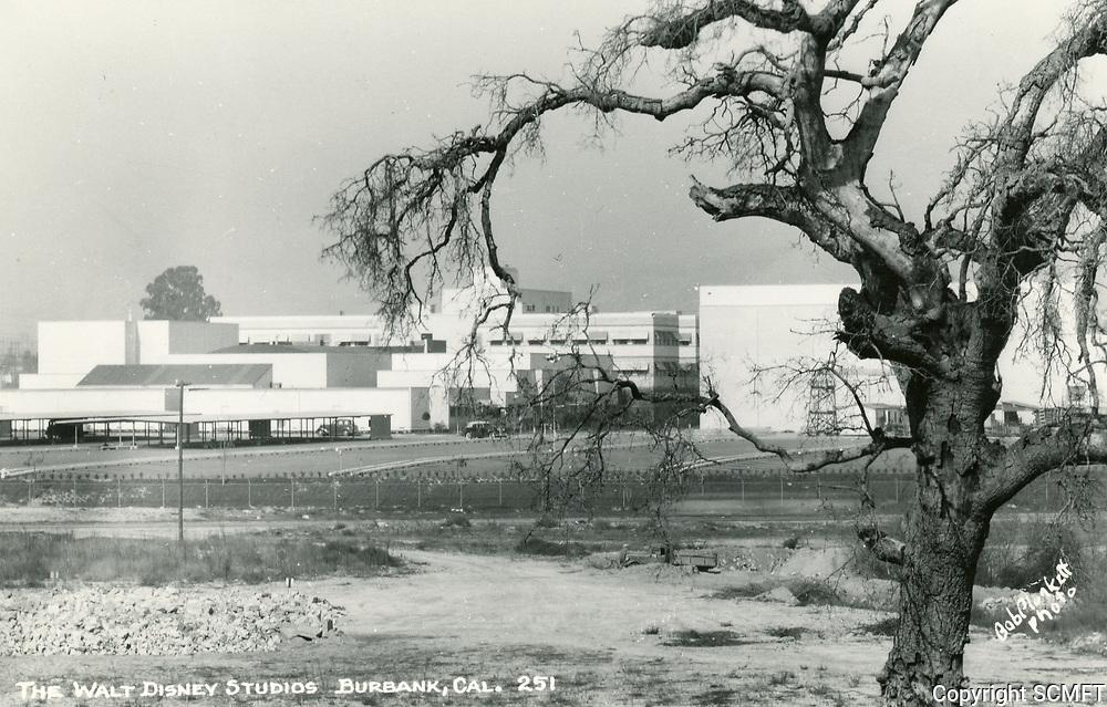 1949 Walt Disney Studios in Burbank