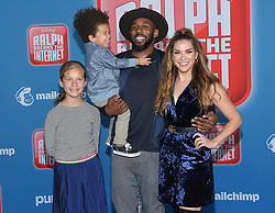 November 5, 2018 - Hollywood, California, U.S. - Allison Holker and Stephen 'tWitch' Boss arrives for the 'Ralph Breaks the Internet' World Premiere at the El Capitan theater. (Credit Image: © Lisa O'Connor/ZUMA Wire)