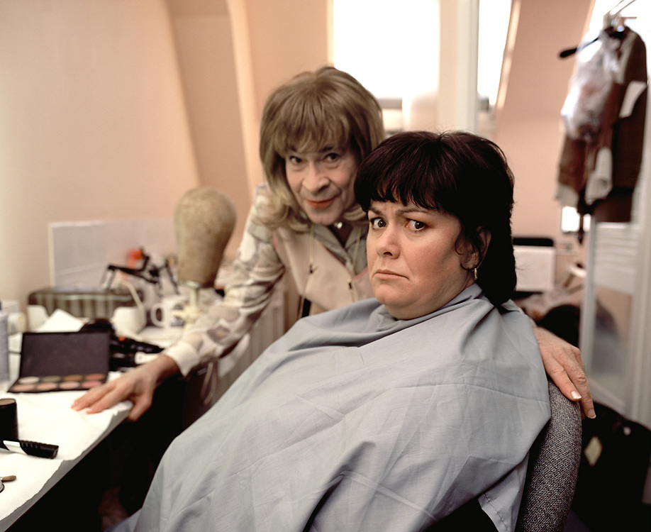 Dawn French and Stanley Baxter Channel 4 TV