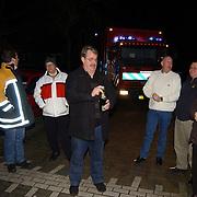 Brandweer commandant Joop Huizing 50 jaar geworden