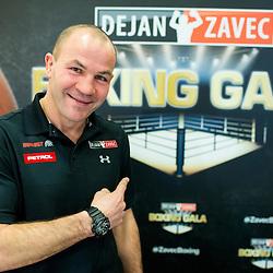 20170221: SLO, Boxing - Press conference of Dejan Zavec Boxing Gala