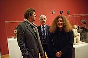 SIR DAVID HARE; NICOLE FAHRI, Henry Moore, Tate Britain. London. 22 February 2010