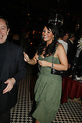 Martine McCutcheon, Spring party at Frankie Dettori's bar and Grill. 3 Yeoman's Row. London sw3. 10 April 2006. ONE TIME USE ONLY - DO NOT ARCHIVE  © Copyright Photograph by Dafydd Jones 66 Stockwell Park Rd. London SW9 0DA Tel 020 7733 0108 www.dafjones.com