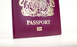 File photo dated 03/01/16 of a British passport, which is 10 times more likely to be lost or stolen within this country than overseas, new figures show.
