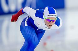 10-12-2016 NED: ISU World Cup Speed Skating, Heerenveen<br /> 1500 m women / Olga Graf RUS