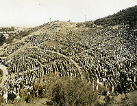 1924 Afternoon concert at the Hollywood Bowl