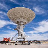 New Mexico: VLA: Very Large Array radio telescope