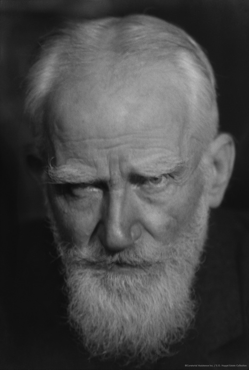 George Bernard Shaw, Irish Author and Playwright, 1920