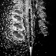 Rowing in Motion. Abstract, Fine Art, Overhead Images from the Head of the Riverfront Rowing Regatta. Connecticut, Hartford. USA. 5th October 2014. Photo Tim Clayton