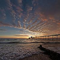 Coastal panorama, Isle of Wight