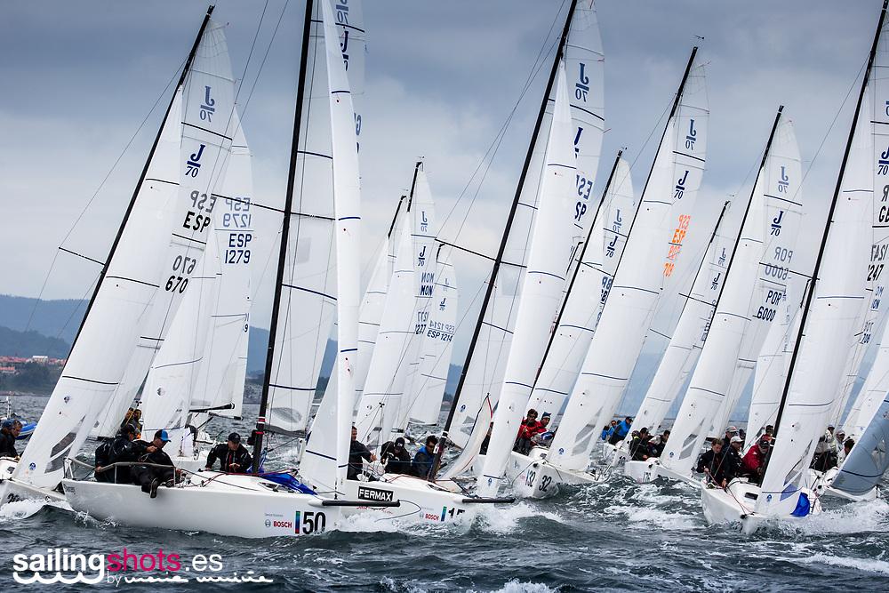 © Maria Muina I J70 European Championship, Vigo 2018.