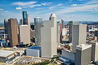 Downtown Houston featuring Continental Center and former Enron Towers