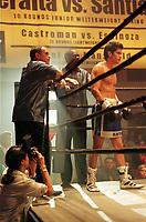 Jun 20, 2000; Los Angeles, CA, USA; Behind the scenes boxing photos of actor NICHOLAS GONZALEZ showtime network show 'Resurrection Blvd.' File Photo.  Mandatory Credit: Photo by Shelly Castellano/ZUMA Press. (©) Copyright 2000 by Shelly Castellano