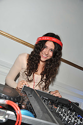 Singer ELIZA DOOLITTLE at Wonderful Winter Wonderland a party to celebrate the launch of Claire's partnership with UNICEF held at 33 Portland Place, London on 14th March 2012.
