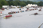 Henley Royal Regatta, Henley on Thames, Oxfordshire, 28 June - 2 July 2017.  Saturday  12:28:08   01/07/2017  [Mandatory Credit/Intersport Images]<br /> <br /> Rowing, Henley Reach, Henley Royal Regatta.<br /> <br /> The Temple Challenge Cup<br />   Oxford Brookes University 'A' v University of California, Berkeley, U.S.A.