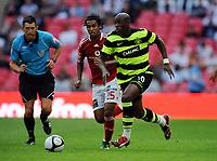 Marc Antoine Fortune<br /> Celtic 2009/10<br /> Wael Gomaa and Gilberto Al Ahly<br /> Celtic FC V Al Ahly 24/07/09<br /> The Wembley Cup at Wembley Stadium<br /> Photo Robin Parker Fotosports International