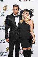 Max Rogers & Kimberly Wyatt, London Lifestyle Awards 2014, The Troxy, London UK, 08 October 2014, Photo By Brett D. Cove