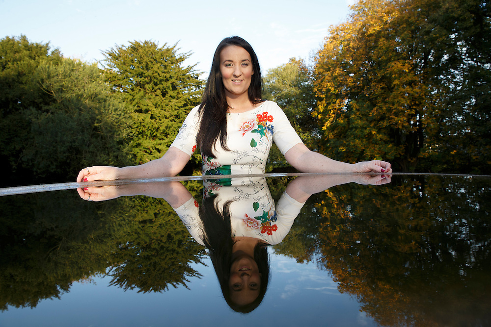 Kirsten Rees of Make Me A Success, near her home in Uddingston.  Picture Robert Perry for The Herald and  Evening Times 29th Oct 2015<br /> <br /> Must credit photo to Robert Perry<br /> FEE PAYABLE FOR REPRO USE<br /> FEE PAYABLE FOR ALL INTERNET USE<br /> www.robertperry.co.uk<br /> NB -This image is not to be distributed without the prior consent of the copyright holder.<br /> in using this image you agree to abide by terms and conditions as stated in this caption.<br /> All monies payable to Robert Perry<br /> <br /> (PLEASE DO NOT REMOVE THIS CAPTION)<br /> This image is intended for Editorial use (e.g. news). Any commercial or promotional use requires additional clearance. <br /> Copyright 2014 All rights protected.<br /> first use only<br /> contact details<br /> Robert Perry     <br /> 07702 631 477<br /> robertperryphotos@gmail.com<br /> no internet usage without prior consent.         <br /> Robert Perry reserves the right to pursue unauthorised use of this image . If you violate my intellectual property you may be liable for  damages, loss of income, and profits you derive from the use of this image.