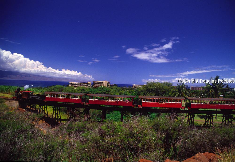 Lahaina Sugar Cane Train, Maui, Hawaii<br />