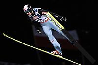 Hopp, ZAKOPANE 28/01/2006<br /> Lars Bystøl soars in the air during the  15th World Cup Ski Jumping competition in Zakopane  southern Poland Saturday  Jan. 28, 2006. <br /> PHOTO: Piotr Hawalej , Digitalsport