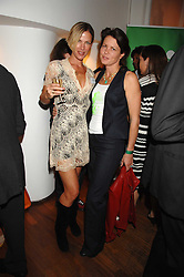 Left to right, CYNTHIA CONRAN and SAMANTHA KESWICK she is fashion designer Samantha Shaw, at 'Party in the Grove' held at Themes and Variations, 231 Westbourne Grove, Notting Hill, London to celebrate the launch of a limited edition china mug created by Paul Smith and Wedgwood in aid of the NSPCC's Parkside Assessment service in Notting Hill.<br /><br />NON EXCLUSIVE - WORLD RIGHTS