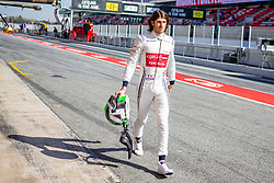 February 28, 2019 - Montmelo, Barcelona, Calatonia, Spain - Antonio Giovinazzi of Alfa Romeo Racing seen during the second week F1 Test Days in Montmelo circuit, Catalonia, Spain. (Credit Image: © Javier Martinez De La Puente/SOPA Images via ZUMA Wire)