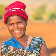 CAPTION: This is Velinasi Kaliofasi. She married Fidelis Dickson in 1993. LOCATION: Nsanja-Seze, Vila Ulongwe area, Angonia District, Tete Province, Mozambique. INDIVIDUAL(S) PHOTOGRAPHED: Velinasi Kaliofasi.