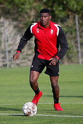 January 6, 2018 - Cadiz, SPAIN - Mouscron's Taiwo Awoniyi pictured during the first day of the winter training camp of Belgian first division soccer team Royal Excel Mouscron, in Cadiz, Spain, Saturday 06 January 2018. BELGA PHOTO BRUNO FAHY (Credit Image: © Bruno Fahy/Belga via ZUMA Press)