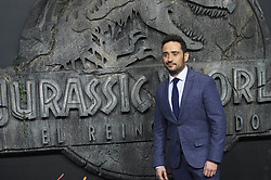 J.A. Bayona attends the Jurassic World: Fallen Kingdom (Jurassic World: El Reino Caido) premiere at WiZink Center on May 21, 2018 in Madrid, Spain. Photo by Archie AndrewsABACAPRESS.COM