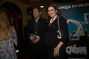 SEAN MCGUINNESS; AMANDA LAMB, Cirque de Soleil London premiere of Quidam. Royal albert Hall. 6 January 2009