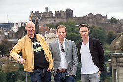 Filth photocall with director Jon S Baird, Irvine Welsh and James McAvoy.<br /> ©Michael Schofield.