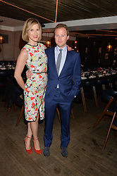 GUY & LIZZY PELLY at the launch of Geisha at Ramusake hosted by Piers Adam and Marc Burton at Ramusake, 92B Old Brompton Road, London on 11th June 2015.