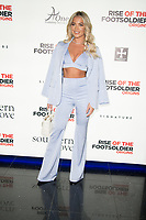 Lottie Tomlinson at the Rise Of The Footsoldier Origins Premiere, Cineworld Leicester Square in Leicester Square, London