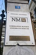 Numismatic Museum, Panepistimio Street, Athens, Greece