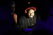 NEW YORK, NEW YORK- FEBRUARY 4: DJ Funk Master Flex spins hip hop classics before THE ROOTS perform the last show at the current Highline Ballroom on February 4, 2019 in New York City.  (Photo by Terrence Jennings/terrencejennings.com)