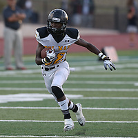 Del Mar #32 Isaac Black vs Westmont in a BVAL Football Game at Westmont High School, Campbell CA on 9/7/18. (Photograph by Bill Gerth)(Del Mar 35 Westmont 3)
